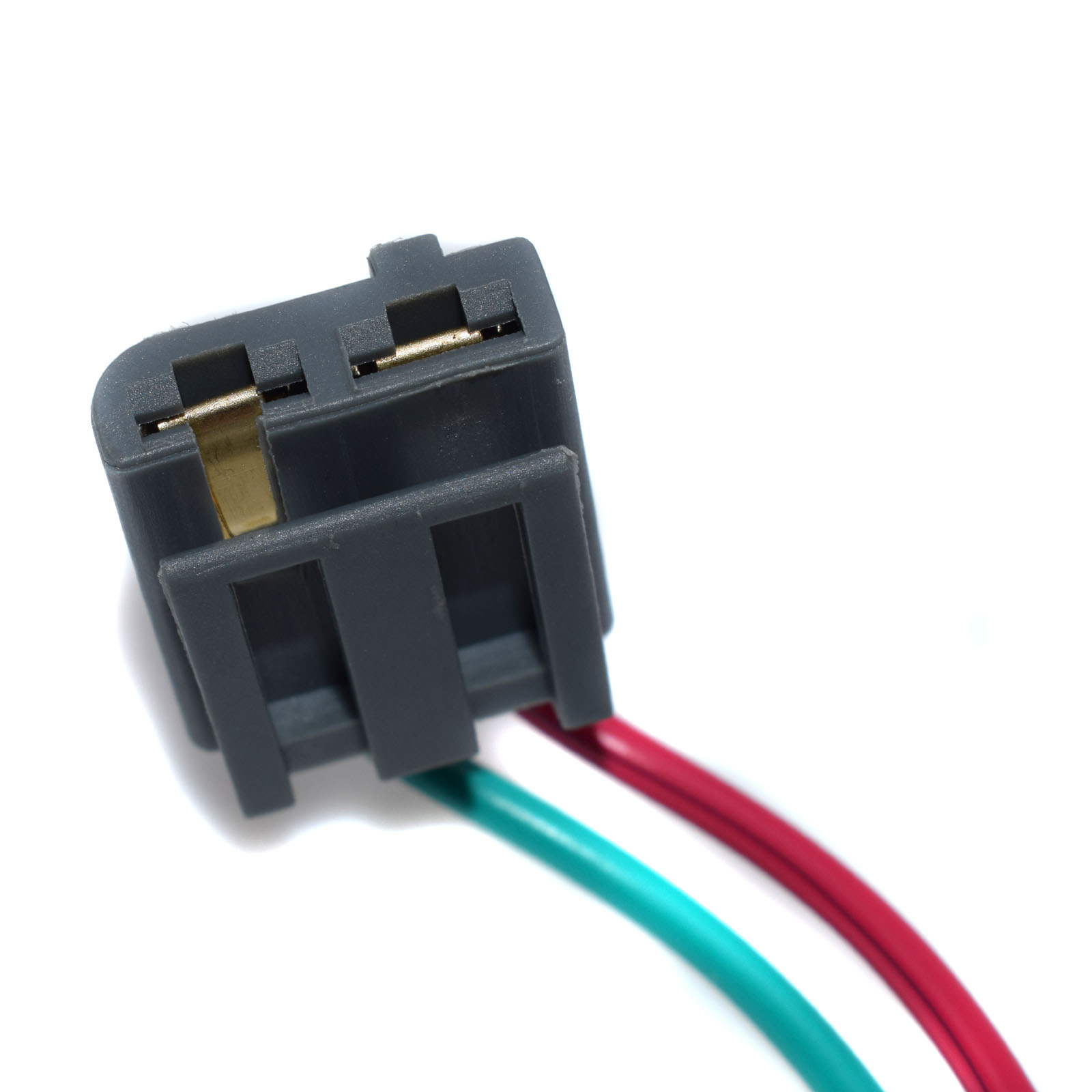 Buy Universal Hei Coil Cap Distributor Dual Wire Harness Connector Pigtail Plug 12v Power Tach 100413109 Jm6933 From