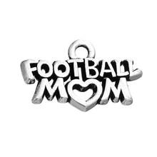 Charms-Pendant Hockey Jewelry Making MOM Dangle Sport-Mom DIY Skyrim for Football