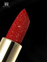 D.S.M Goddess Blooming Lipsticks Moisturizing Makeup Lipstick Waterproof Lipstains Sexy Red Cosmetics Makeup  Lipstick