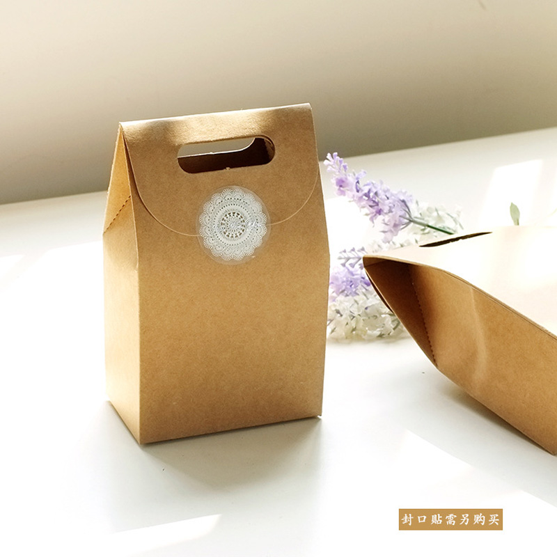 Us 1 47 26 Off 2pcs 10x6x15 5cm Mini Kraft Ng Bag Gift Pack Paper Party Favor Jewelry Candy Cake Bags In Wring Supplies