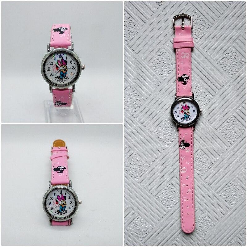 Fashion Student Children Watch For Boys Girls Leather Digital Watches For Kids Boys Birthday Gift Child Clock Quartz Wristwatch