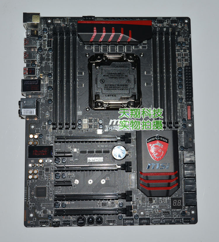 X99A GAMING 7 X99 flagship game board to replace X99S with USB3 1 overclocking
