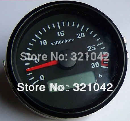 все цены на 12V Engine tachometer, engine dedicated tachometer*100R/MIN with display онлайн
