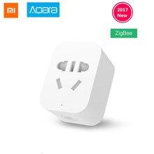 Оригинал Сяо Mi aqara Смарт Wi-Fi разъем ZigBee версия работает пульт дистанционного управления с Сяо Mi умный дом mijia Ми приложение Home