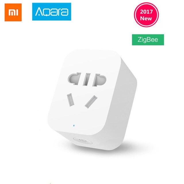 Oryginalny Xiao mi mi inteligentne gniazdo WiFi wtyczka ZigBee pilot zdalnego sterowania w wersji pracy z Xiao mi inteligentnego domu mi jia mi domu aplikacji