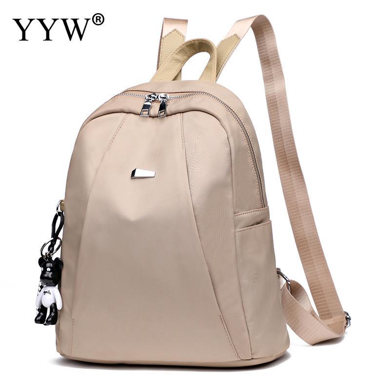 YYW Women Backpack Mochila School-Shoulder-Bag Teenage-Girls High-Quality Fashion Oxford
