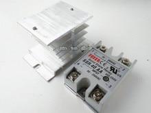 AC-AC Металл База твердотельные реле SSR-40AA 40A выход переменного тока 24-380 В