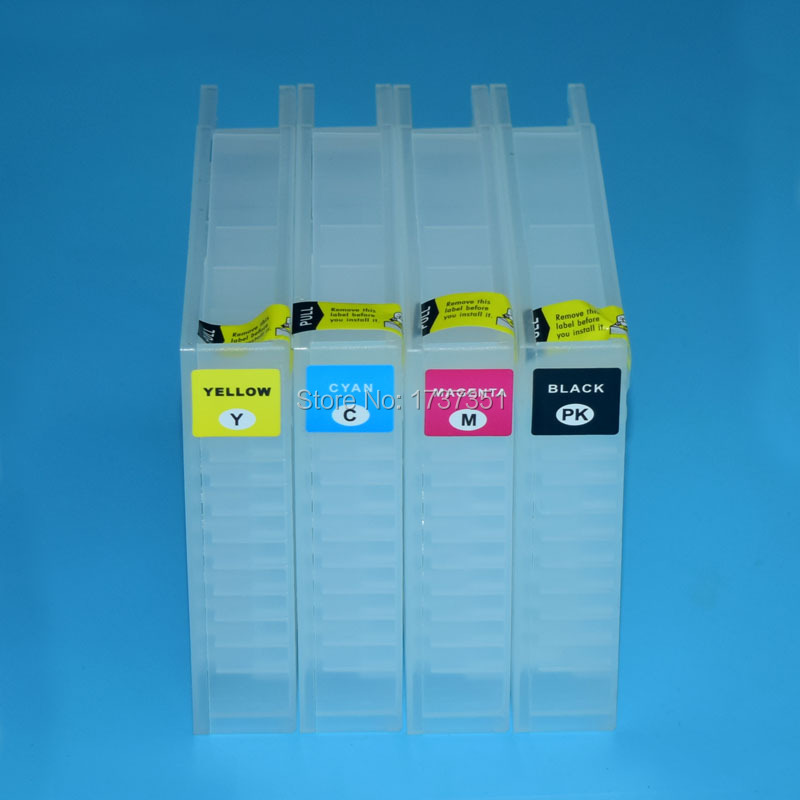 цена на T7521 For Epson WorkForce WF-8091 WF-8591 refill ink cartridge 4 color for Epson T7521-T7524