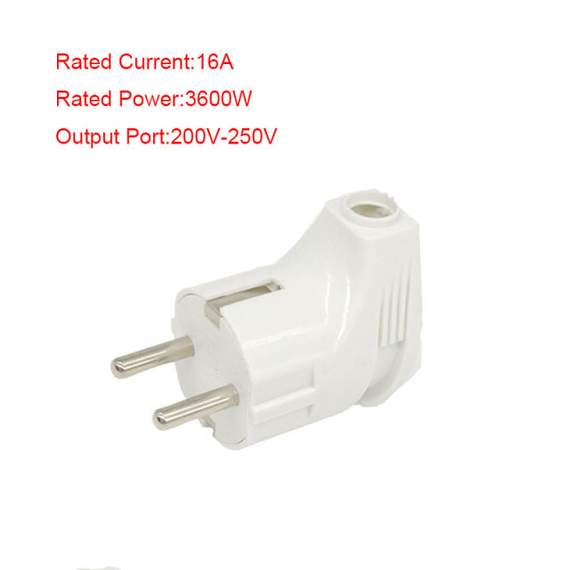 16a 3600w 200v 250v European Standard Dual Core Socket Adapter Plug Converter Electric Travel Charger Safety Hot