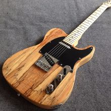 Custom shop TL Electric Guitar spalted maple top vintage tuner
