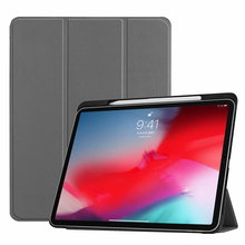 Case For Funda ipad pro 11 2018 Case with Pencil Holder Tablet Stand + Trifold PU Leather Slim Smart Cover For ipad Pro 11 Case 2017 for new ipad pro 10 5 tablet case cover smart fundas pu leather slim protective stand for apple ipad 10 5 pro wallet cases
