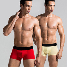 Men Male Boxer Underwear Shorts Underpants Fashion Sexy Stretchable Briefs