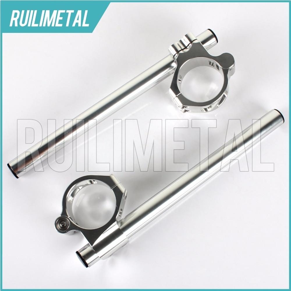 41MM Split Clip Ons handlebar handle bar For KAWASAKI ZX 600 NINJA ZX-6 ZX-6R ZR 750 ZX 750 VN 800 Vulcan Classic Drifter 99-00 15cm saddle bag support bar bracket for kawasaki vulcan vn 800 800a classic custom