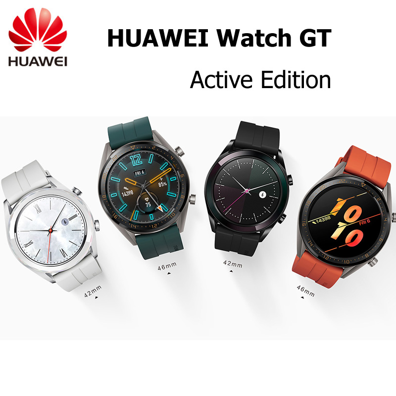 HUAWEI WATCH GT Active Edition Smart Sport Watch 1 39 AMOLED Colorful Screen Heartrate GPS Swimming