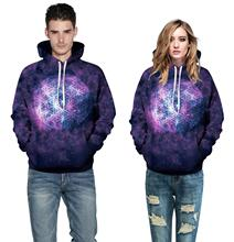 Miduo Autumn Winter Hip Hop Men Galaxy Print 3d Hoodie Men Women Casual Hooded Sweatshirt Jumper Outfits Sweat Shirts Men