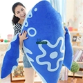 Dorimytrader New 140cm Jumbo Plush Soft Animal Fish Toy Stuffed Giant 55'' Cartoon Carp Pillow Baby Gift Free Shipping DY61216