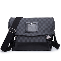 Luxury Brand Men's bagHigh Quality Man Handbag PU Leather Shoulder Bags Business Travel Crossbody Casual Messenger