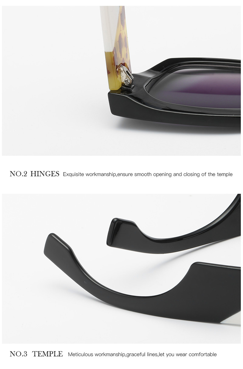 Luxury Brand New Designer Gradient Sun Glasses CLOVER JEWELLERY