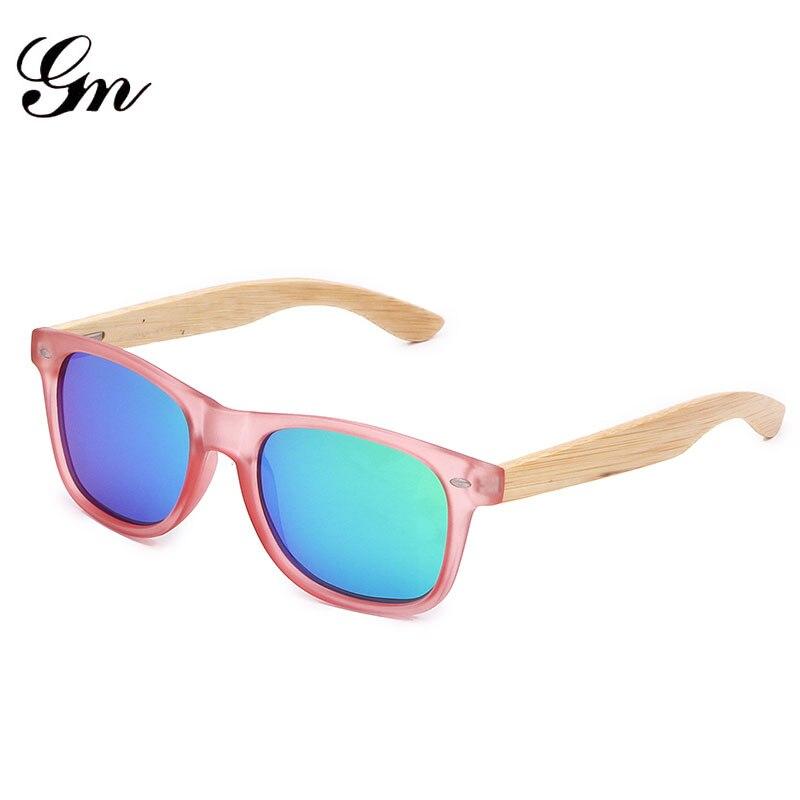 G M Бамбука Солнцезащитные очки женские брендовые дизайнерские очки нейтральные солнцезащитные очки