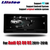 For Audi Q3 8U RS 2011~2018 Original Car Style Liislee Car Multimedia Player NAVI Radio 4G GPS Navigation