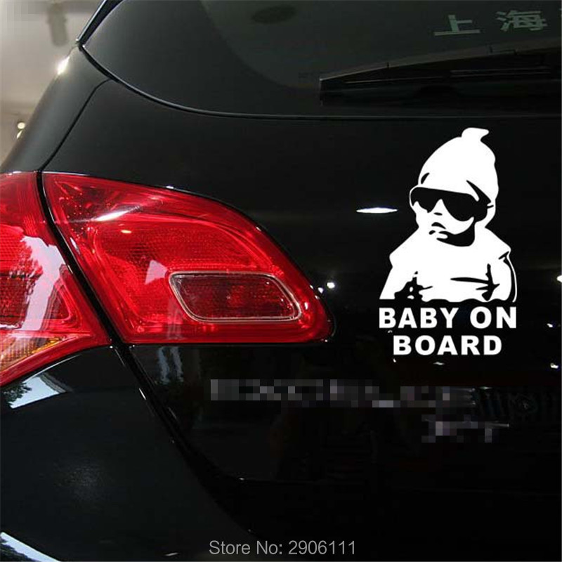 Car Reflective Car After Warning Sticker Decals for Skoda octavia fabia yeti rapia superb a accessories car-styling DIY
