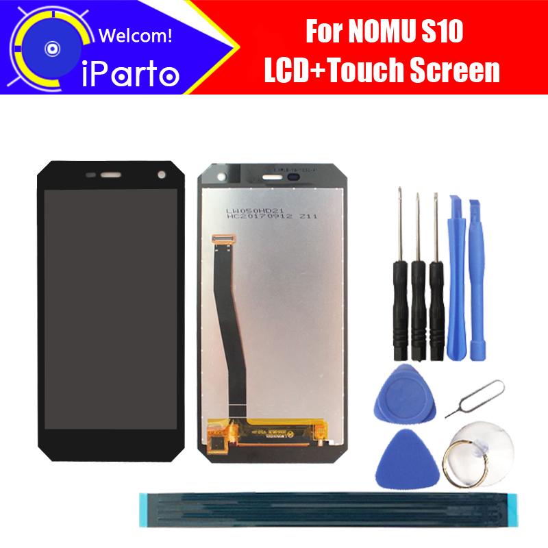 5.0inch NOMU S10 LCD Display+Touch Screen Assembly 100% Original New Tested Digitizer Glass Panel Replacement For S10 Universal