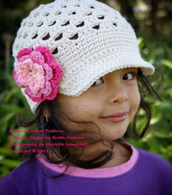 La historieta HandmadeCrochet patrón del sombrero del ganchillo ...