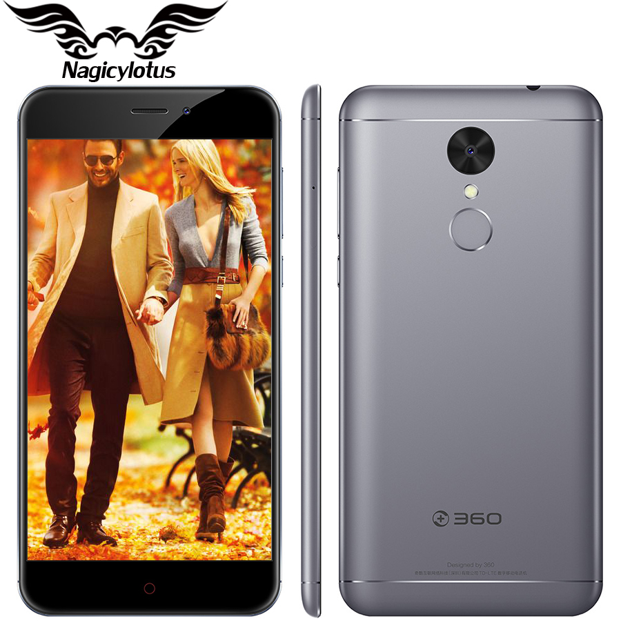 NEW Original 360 N4A 4G LTE 5.5 inch MT6735 Octa Core 3GB RAM 32GB ROM Android 6.0 Camera 13MP 4000mAh Fingerprint Mobile Phone