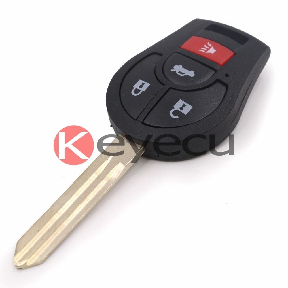 цены на Keyecu 10pcs/lot Uncut Keyless Entry Remote Key Fob 315MHz ID46 Chip for Nissan Sentra 2013-2014 в интернет-магазинах