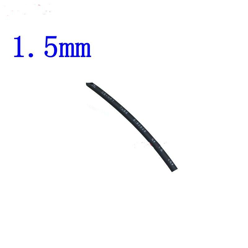2 Meters//lot 2:1 Black 4mm Heat Shrink Heatshrink Tube Sleeving Wrap Wire L54