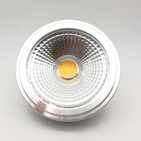 Free shipping AR111 15W Led COB G53 lamp 15W G53 LED 85 260V AR111 led bulb AR111 led spotlight Warm Cold White