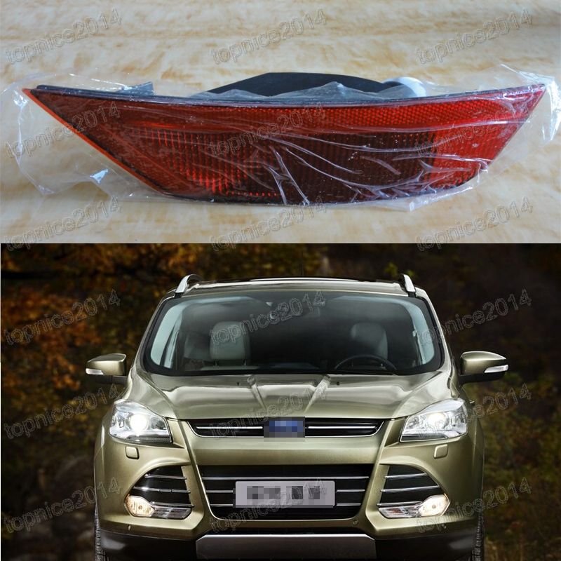 1Pcs Right Side Rear Bumper Fog Light Tail Fog lamp For Ford Escape Kuga 2013 2016