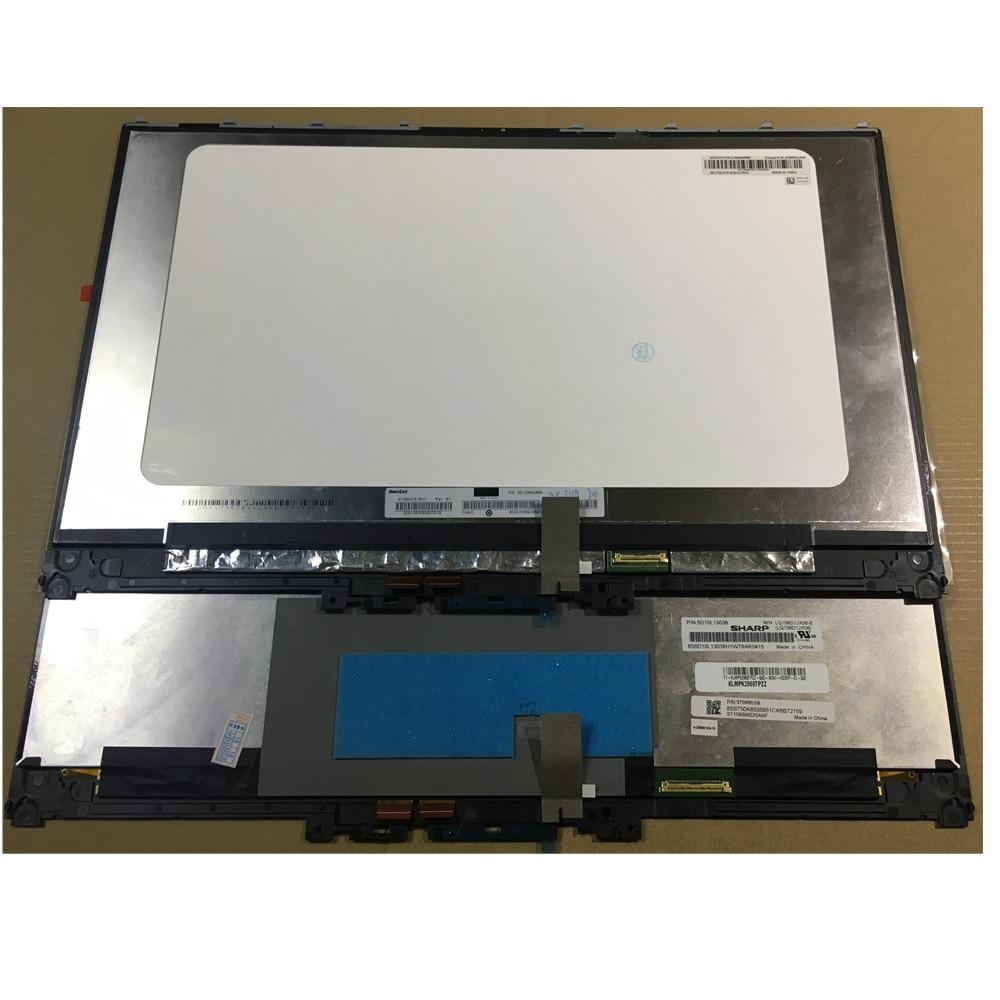 4K Lenovo Yoga 720-15IKB UHD 3840x2160 LCD Screen Touch Digitizer Frame Assembly