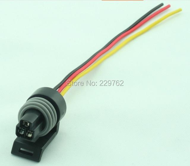15pcs 3 pin packard metri pack p2s car sensor throttle position sensor tps waterproof