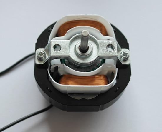 YJ58 CW in senso orario 2 Poli 4mm Albero Dia 2600 RPM Motore A Poli Schermati AC220V 12-14 W intorno ventilatore fan Caldo YJ58-12