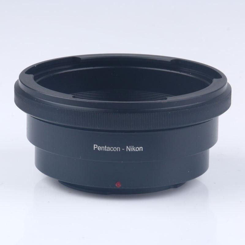 PENTACON 6/Kiev 60 lente a AI F anillo adaptador de montaje para D7100D D7000 D300 D3100 D90 D80 d600 d810A D5500 D750 D810 D4S Cámara