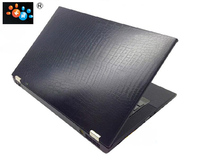 KH Laptop Carbon Fiber Crocodile Snake Leather Sticker Skin Cover Guard Protector For Samsung RV511 RV515