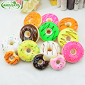 6 PCS / SET 5cm Jumbo Cute Mousse Cake Squishy Slow Rising Kawaii Squeeze Cute Strap Bread Cake Pendant Stretchy Gift PU Toy