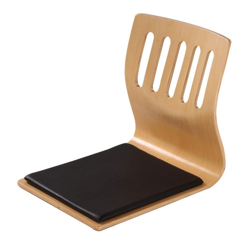 (4pcs/lot)Tatami Chair Leather Cushion Seat Asian Living Room Furniture Japanese Floor Seating Legless Zaisu Chair Wholesale