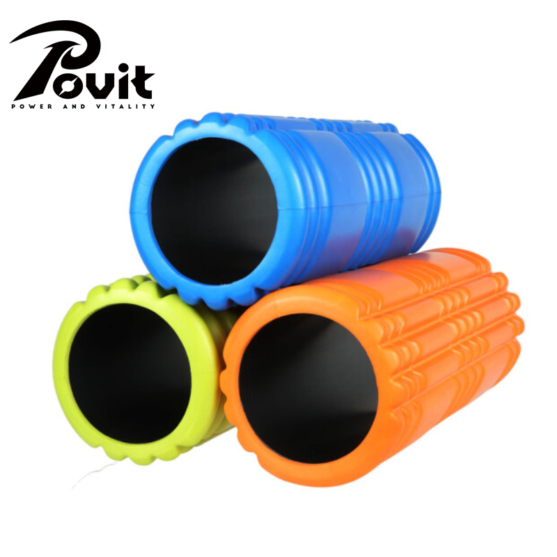 POVIT Eva Yoga Foam Roller Fitness Equipment Yoga Roller Block Pilates Fitness Gym Exercises Physio Massage Block Relax Muscles new yoga pilates exercise high density eva foam massage roller fitness home gym massage