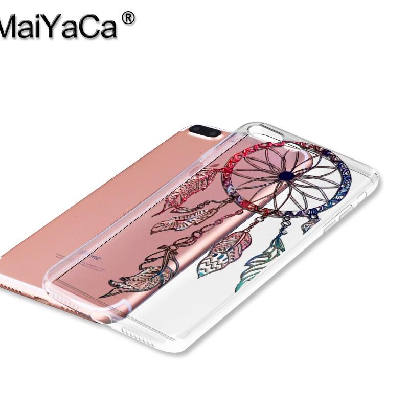 MaiYaCa Mandala λουλούδια dream catcher TPU Soft Phone Case - Ανταλλακτικά και αξεσουάρ κινητών τηλεφώνων - Φωτογραφία 2