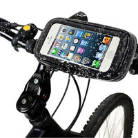 Bike Bicycle Handlebar Mount Holder With Waterproof Case For Xiaomi Redmi Note 2 Motorcycle Phone Stand