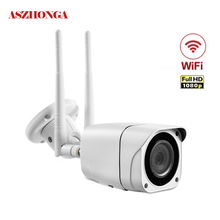 купить Outdoor Security Camera IMX307 1080P HD WiFi Cam Wireless IP Waterproof IR Night Vision Home Security Surveillance System онлайн