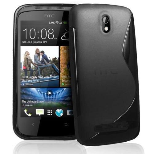 S-Line Tpu Soft Silicone Skin Case Cover For HTC Desire HD G10/G17/One S/One X/M7/M8/M8 Mini/M9/M10/Desire 500/Desire</fon