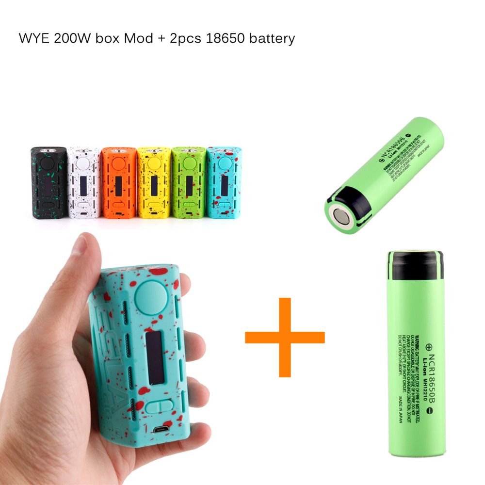 Newest Electronic Cigarette Mjtech 5s Vv Kit Wax Oil Box Mod 2 In 1 To Clean The Lens Of A Green Laser Pointer Hacks Mods Circuitry Teslacigs Tesla Wye 200w Vaporizer Vapor Hookah With 2pcs Ncr18650b