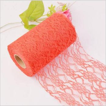 10Pcs 25Yard/Roll Cheap 15CM non-elastic Silk lace lace diy features headdress wedding decorations diy clothing accessories lace