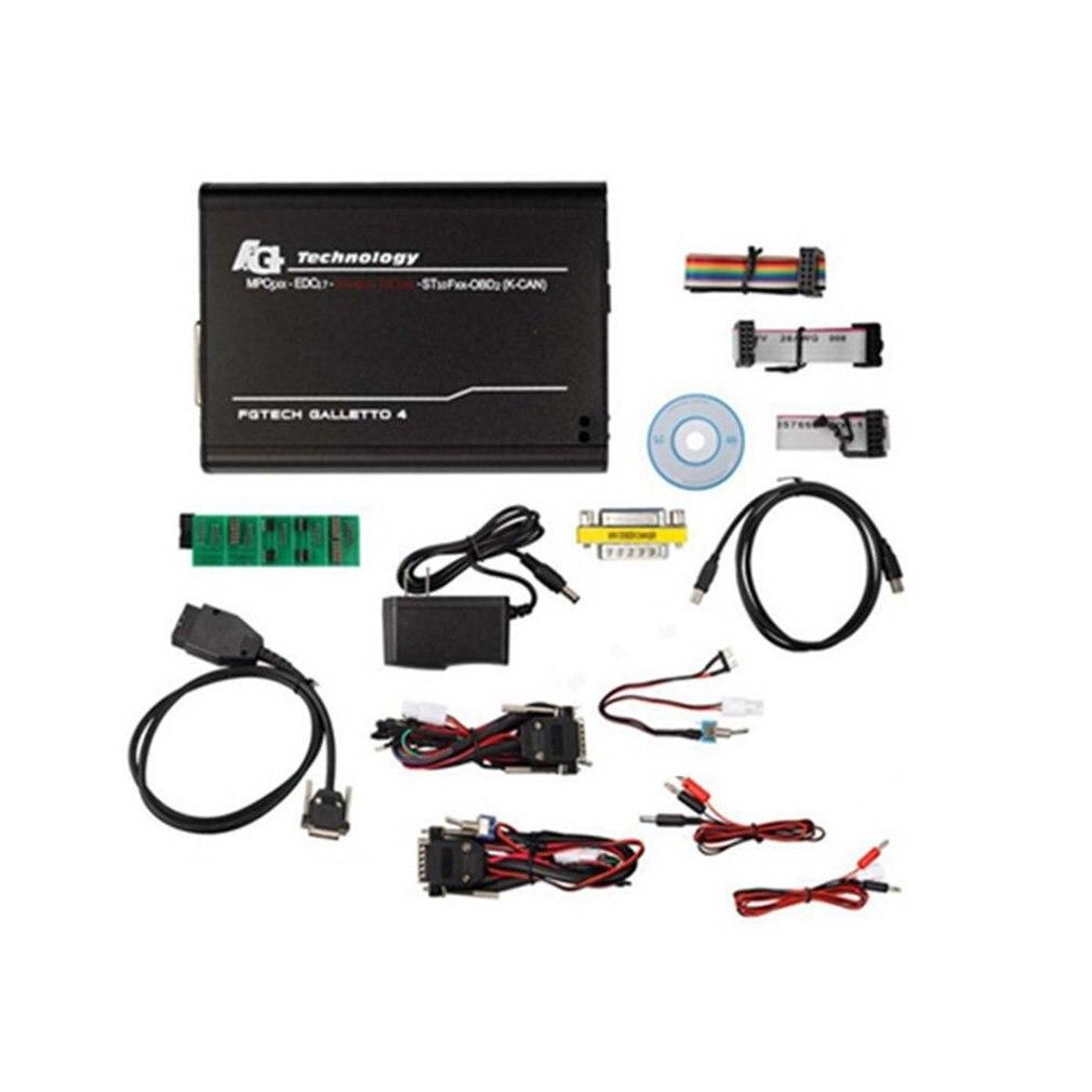 WA0080 FGv54 professionnel voiture ECU programmeur outil BDM-OBDII ensemble complet maître Portable Diagnostic défaut Scanner outil