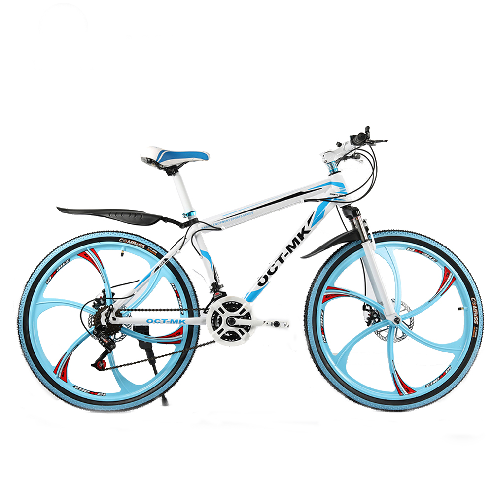 Russian warehouse and Wholesale 26 inch and 21 speed integrated wheel mountain bike Bicycle downhill Road ...