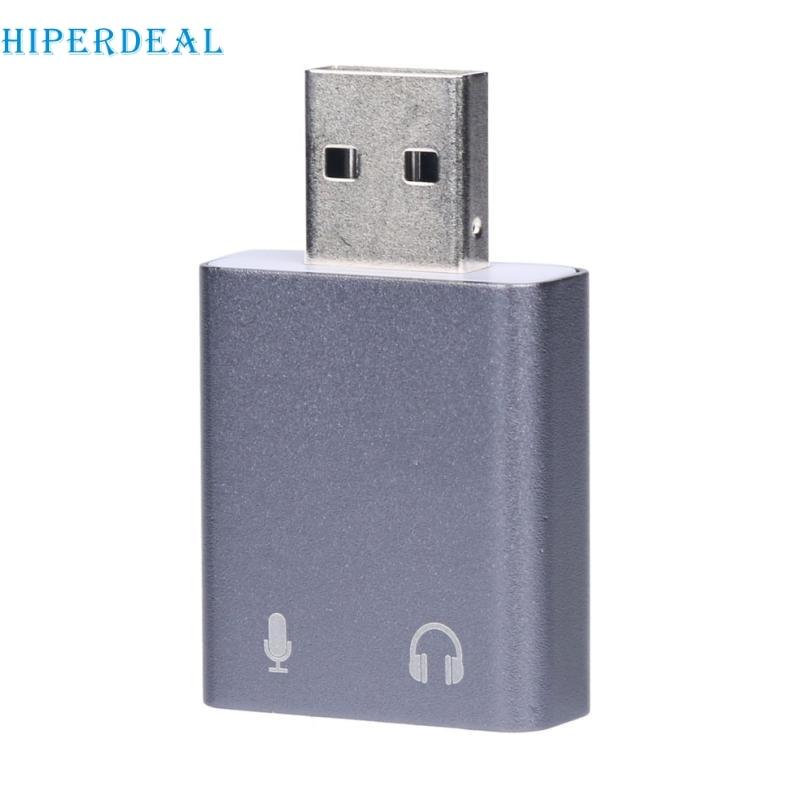 Good Sale External USB 2.0 To 3D Virtual Audio Sound Card Adapter Converter 7.1 CH Mar 21