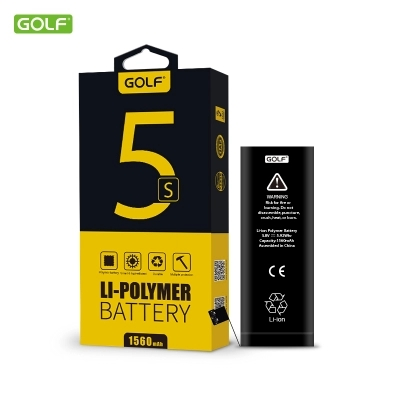 GOLF Original Accumulator 1560mAh Battery For Apple IPhone 5S 5C With Retail Package